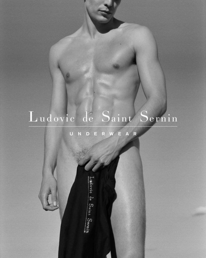 Ludovic de Saint Sernin - Campagne Underwear FW19
