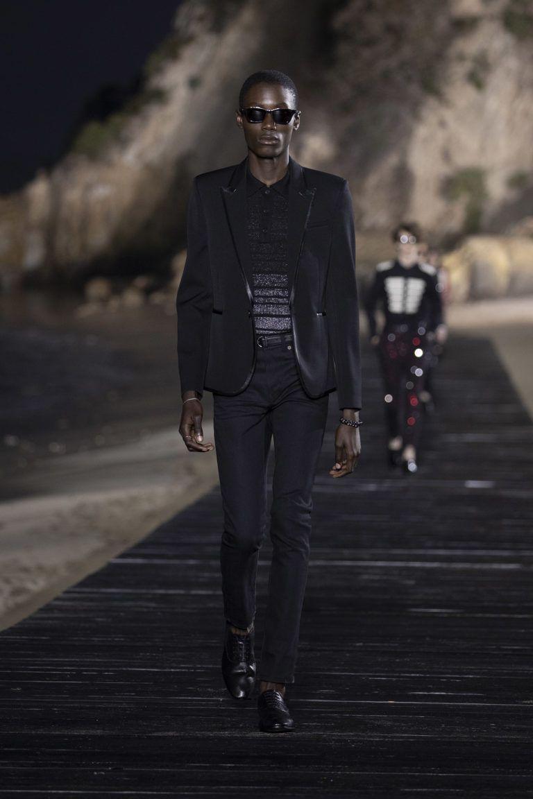 Saint Laurent Paris - Men SS20 - Look12