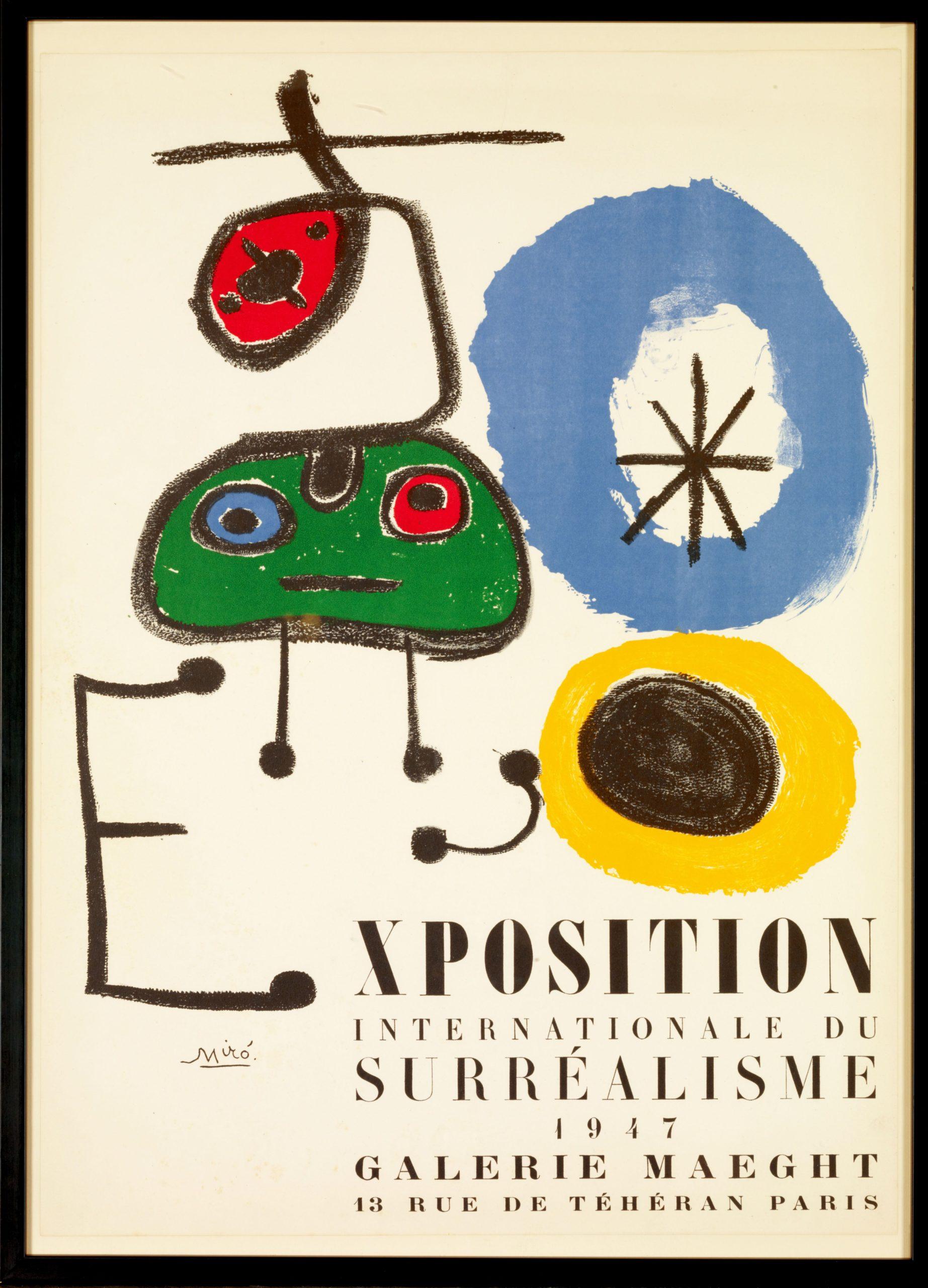 Miró exposition Fondation Maeght