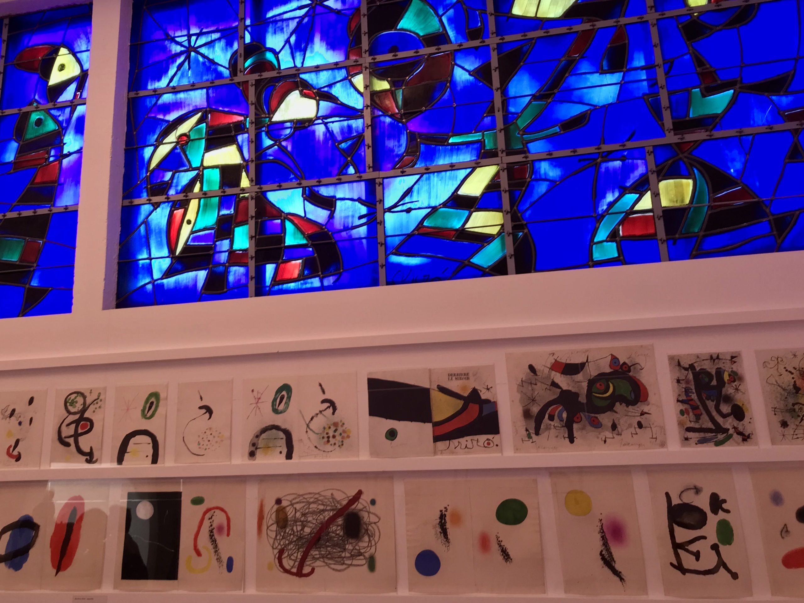 Miro Fondation Maeght vitrail