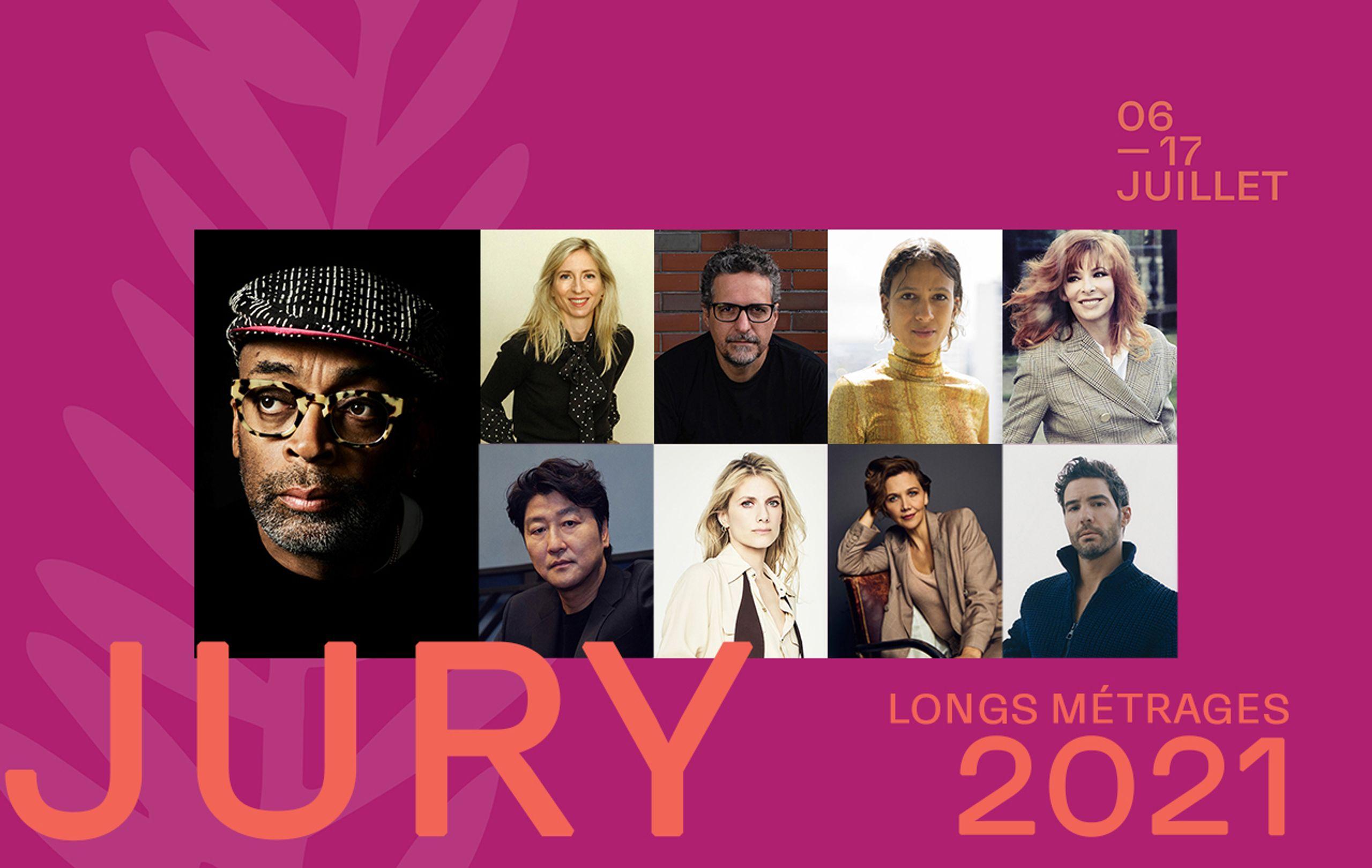 Cannes Jury 2021 Long métrages