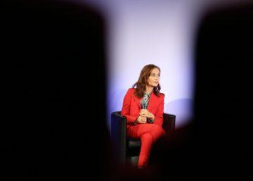 Isabelle Huppert en masterclass au Festival de Cannes 2021
