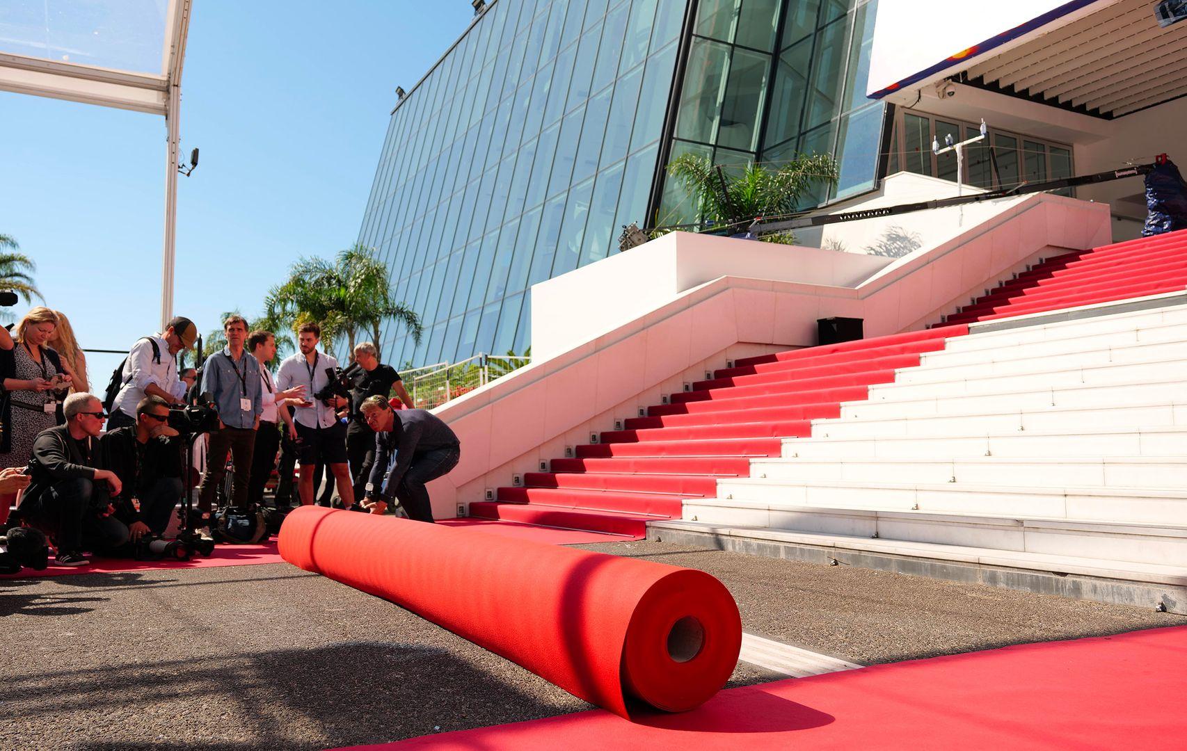 Tapis rouge de Cannes