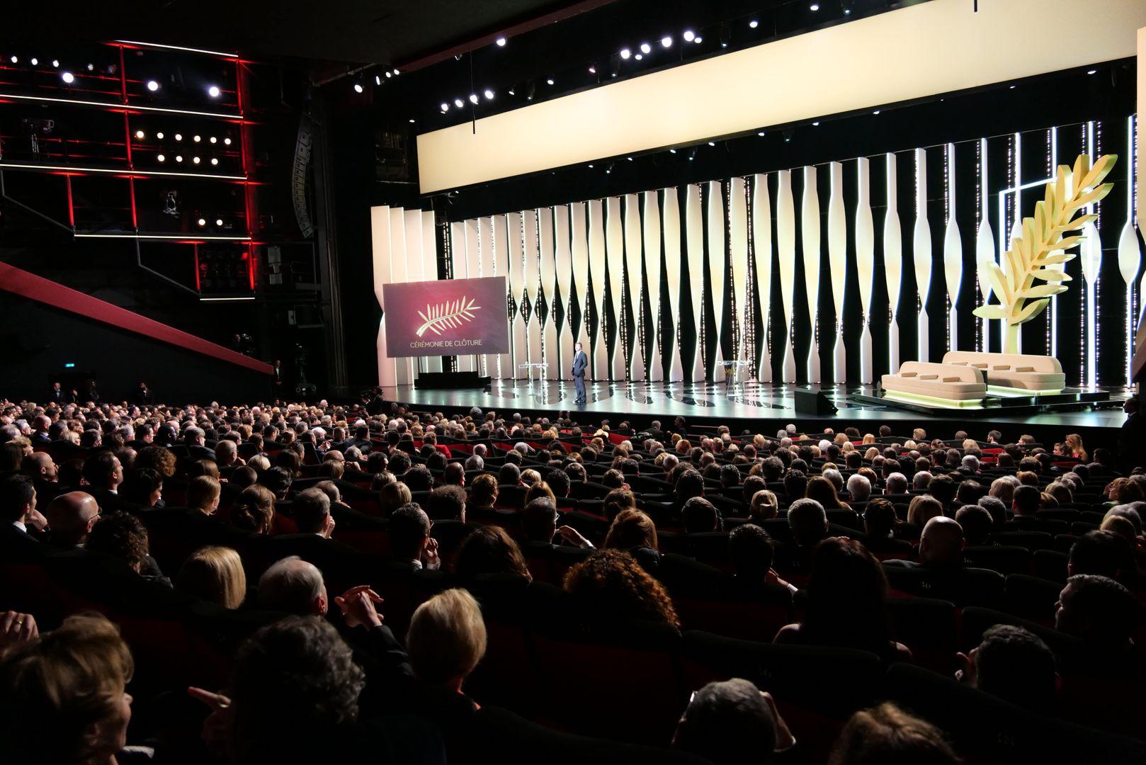 Cérémonie de clôture Festival de Cannes