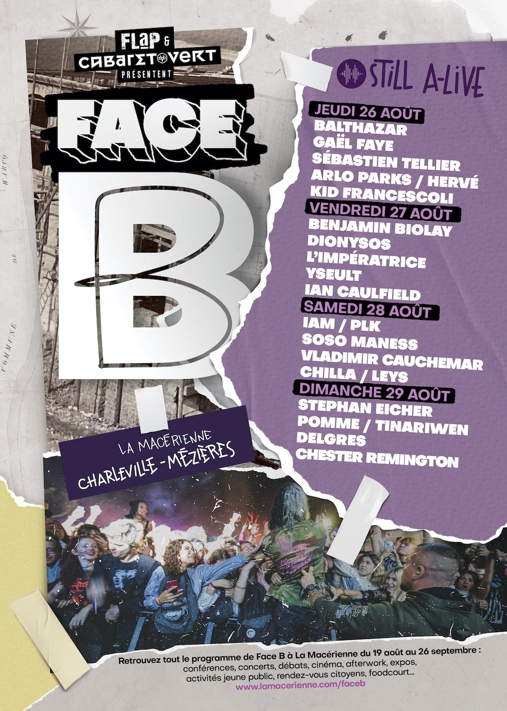 Programme Face B 2021